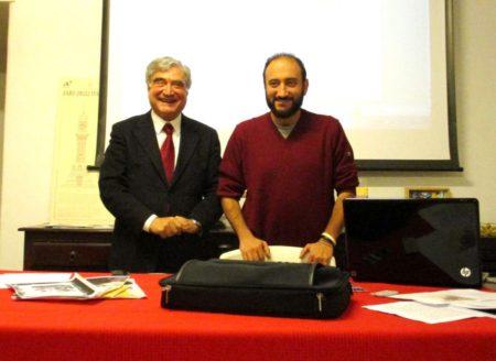 Enrico Luciani con Roberto Calabria pronti alle relazioni da svolgere