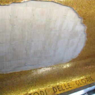 Il Mausoleo ferito !! Il soffitto della cripta ancora da risistemare…