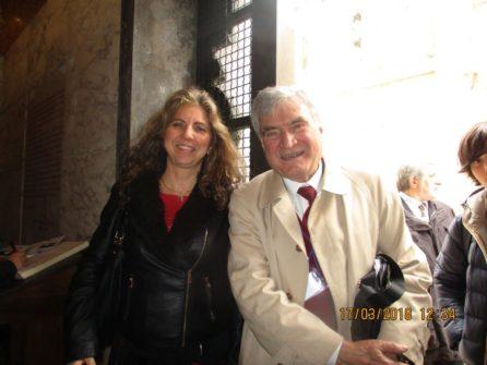 Enrico Luciani e Mara Minasi d'intesa per il compleanno del Museo della Repubblica romana Museo