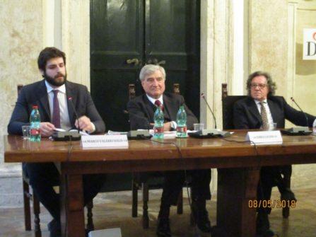 da sinistra: Marco Valerio Solìa, Enrico Luciani, Guido Palamenghi Crispi