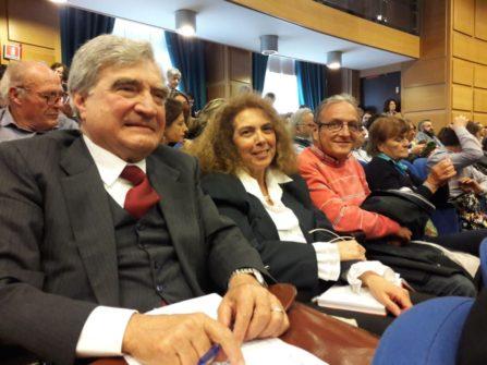 Enrico Luciani con Noemi Cavicchia Grimaldi e Massimo Capoccetti
