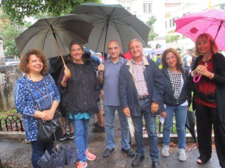 Da sinistra: Daniela Donghia, Caterina Rendina, Simone Simone, Massimo Capoccetti, Federica Naddeo, Serenella Luisi