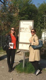 La professoressa Simona De Caro con Mariapaola Pietracci Mirabelli