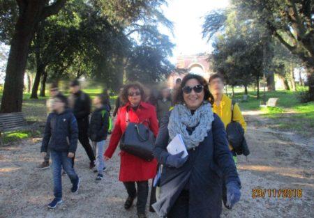 Daniela Donghia con la prof.ssa Donatella Fiori guidano la III F