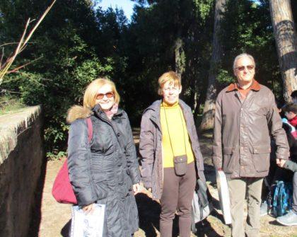 Per la III G, le professoresse Mirella Venditti e Anna Campo, con Massimo Capoccetti
