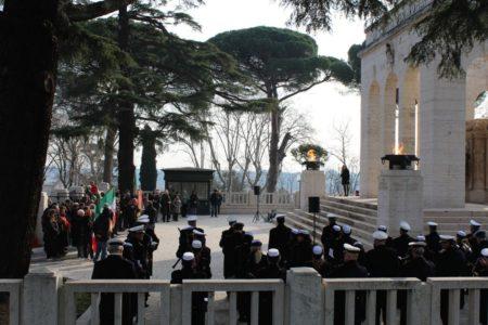 Intervento della dr.ssa Mara Minasi, attenta coordinatrice della cerimonia prevista dal Cerimoniale del Comune di Roma