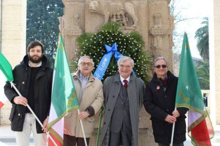 Da sinistra: Marco Valerio Solìa Bertani, Roberto Cerulli, Enrico Luciani, Massimo Capoccetti