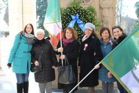 Da sinistra: Manuela Franci, Ivana Colletta, daniela Donghia, Noemi Cavicchia Grimaldi, Giovanna De Luca, Mariapaola Pietracci Mirabelli