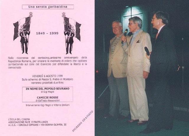 1999 - Vittorio Emiliani, Luigi Magni, Enrico Luciani