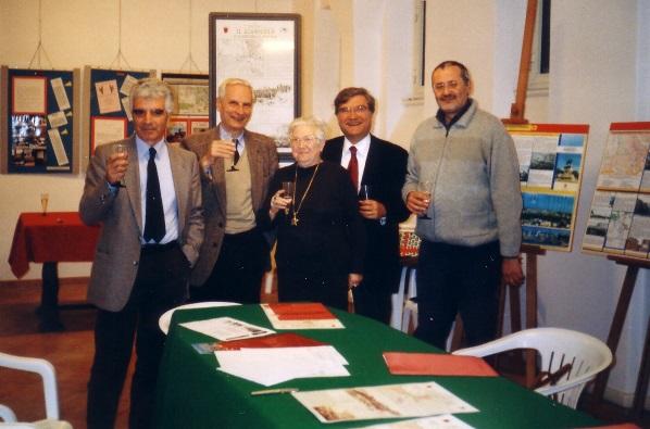 2004 - Giuseppe Monsagrati, Cesare Balzarro, Giuliana Limiti, Enrico Luciani, Claudio Bove