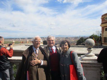 Vittorio Verginelli, Enrico Luciani, Giovanna de Luca appaiono davvero soddisfatti, una bella giornata