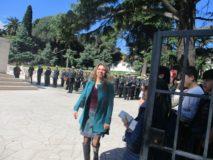 Mara Minasi, responsabile del Mausoleo Ossario, cura l'organizzazione