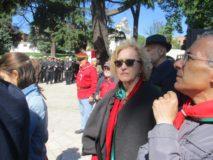 Maria Antonietta Serra con Daniele Arru, pronti alla cerimonia.