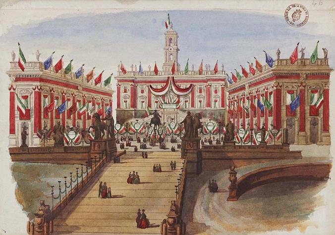 Anonimo-Festeggiamenti per la Costituente Romana BSMC (Biblioteca Storia Moderna e Contemporanea)