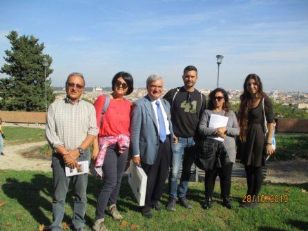 Foto ricordo, da sinistra: Massimo Capoccetti, Martina Micillo, Enrico Luciani, Massimiliano D'Aversa, Veronica Formica, Loredana Rubeis