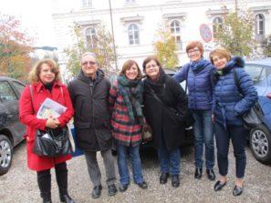 Daniela Donghia e Massimo Capoccetti con le professoresse Valentina Giacalone, Anna Rita Nucci, Cristina Ganassi, Imma Germinario