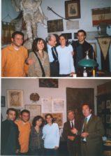 Viola e Mariapaola insieme a Roberto e Alessandro nel corso per giovani guide del 2007, nella conferenza tenuta da Mauro Ferri, Presidente Corte Costituzionale