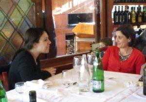 Viola Contursi e Mariapaola Pietracci Mirabelli: le due amiche e i ricordi