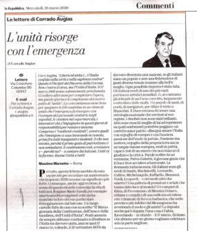 Mario Savelli è ricordato da Corrado Augias