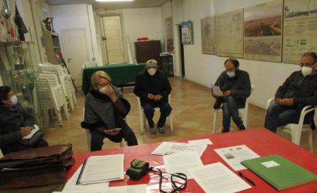 Con sei presenze Luciani apre la riunione e Roberto Calabria viene nominato segretario della stessa