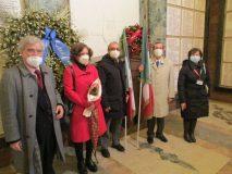Si aggiunge a noi nel Sacrario anche la prof. Gisella Bellantone, dell'associazione Mille Donne per l'Italia