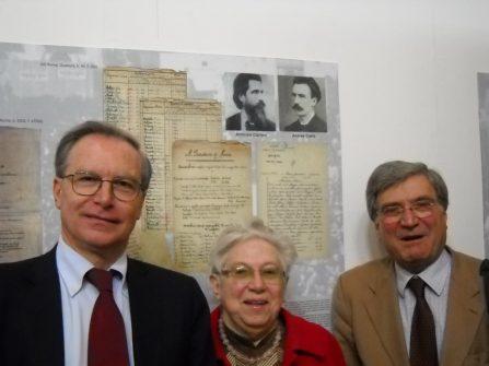 Guglielmo Epifani con Giuliana Limiti ed Enrico Luciani