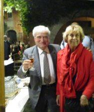 Enrico e Cecilia presenti e ben auguranti