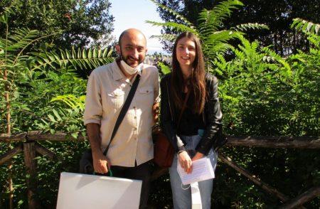 Roberto Calabria e Martina Caponi